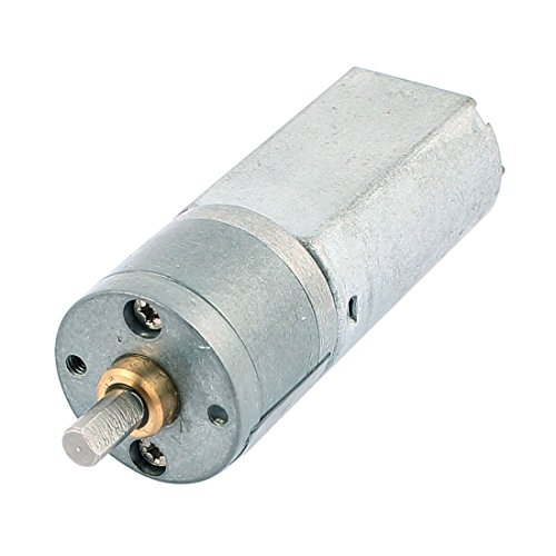 Tradico® DC 12V 100R/Min High Torque Electrical Low Speed Reduction Gear Box DC Motor