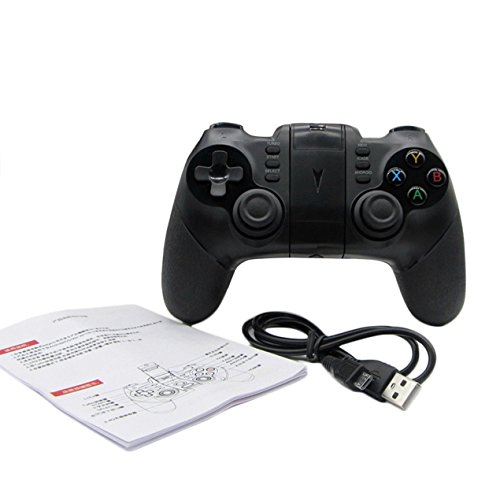 PC-Gaming-Controller, Drahtlose Bluetooth-Game-Controller Gaming Joystick Gamepad RC, für PS4 / Sony/Playstation 4 / PC (Windows XP / 7/8 / 8,1/10) / PS3 / Android/Vista / TV Box Portable