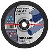 Sidamo - 25 disques à tronçonner Mister Cut MD - D.115 x 3 x 22,23 mm A30T - Acier - 10105001