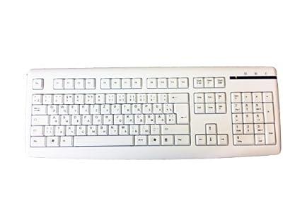 Fujitsu Siemens Tastatur K365 Weiss USB Deutsch Russisch Kyrillisch