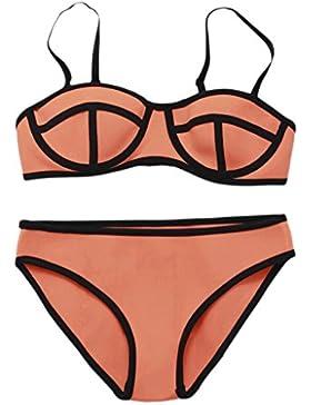 Costume da bagno delle signore Costume da bagno bikini spa multicolore del neoprene del bikini dello Swimsuit...