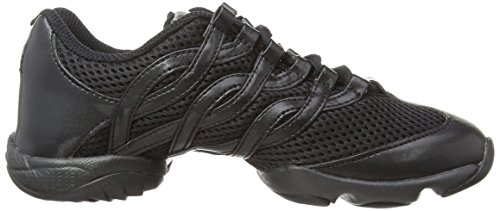 Bloch - Twist, Scarpe da tennis Unisex – Adulto Nero (Black)