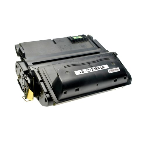 Logic-Seek Toner kompatibel zu HP Q1338A 38A Laserjet 4200 Serie - Schwarz,...