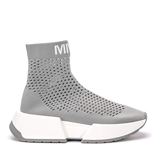 Sockensneaker Mm6 Maison Margiela Grau Perforiert