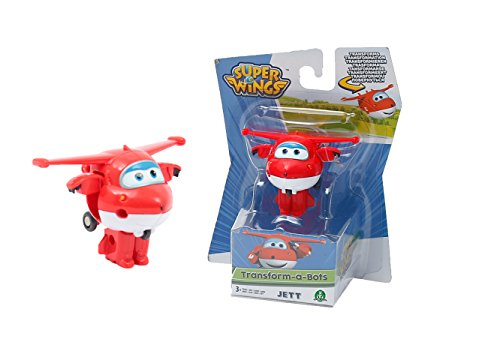 Super Wings 70710011 - Mini Transform-Flugzeuge Jett -