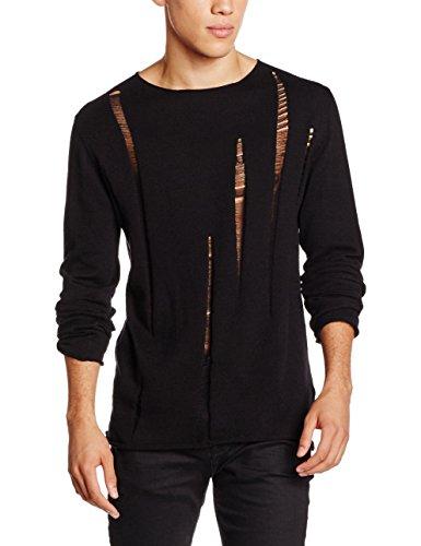New Look Herren Pullover Schwarz (Black)