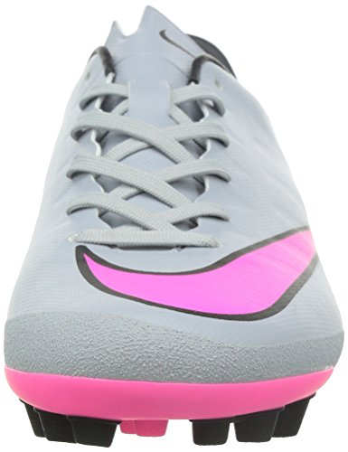 Nike Mercurial Victory V Ag-r, chaussures de football homme WOLF GREY/HYPER PINK-BLACK-BLK