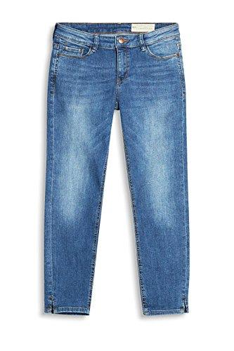 ESPRIT Damen Jeanshose Blau (BLUE MEDIUM WASH 902)