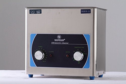 TDRFORCE Professionelle Ultraschall-Edelstahl-Reinigungs-Ausrüstung Saubere Schmuck-Brille Commercial Industrial Edelmetall-Dekorationen Kochutensilien Geschirr Car Carburetor ect.(3L)