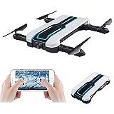 Ydq Mini Drone, Pieghevole FPV Droni Tascabile con Telecamera HD 720P/FPV...