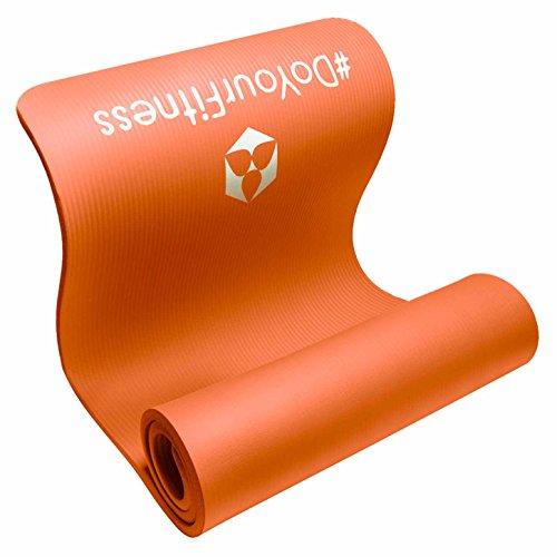 Fitnessmatte Yamuna EXTRA-dick und weich, ideal für Pilates, Gymnastik und Yoga