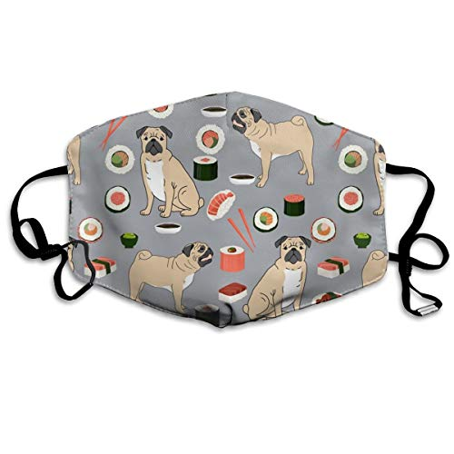 and Sushi Japanese Food Anti Dust Mask Anti-Pollution Waschbar Wiederverwendbare Mundmasken ()