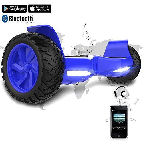 Hoverboard SUV de 8,5 Pulgadas, 700 W, Función APP, Bluetooth y LED, Auto-Equilibrio Patinete Eléctrico para Niños y Adultos