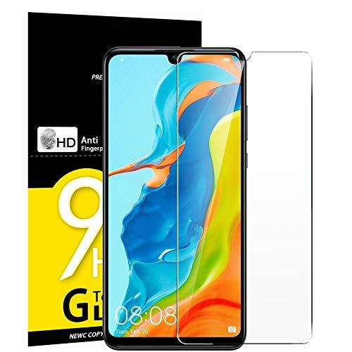 NEW'C Verre Trempé pour Huawei P30 Lite/Nova 4e, Film Protection écran - Anti Rayures - sans Bulles d'air -Ultra Résistant (0,33mm HD Ultra Transparent) Dureté 9H Glass