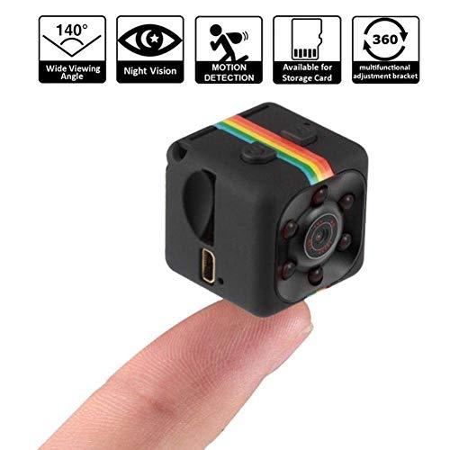 DBSCD 1080P Mini-Kamera, HD-Camcorder-Spion-Kamera-Kindermädchen-Web-Cam-Sport-Mini-DV-Videorecorder mit Nachtsicht und Bewegungserkennung für Home Security