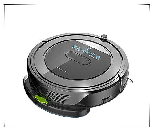 Deluxe Robot Aspirador Programable 4 En 1 Barre Friega Aspira Abrillanta Base de Carga