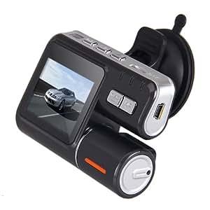 720P caméra vidéo enregistreur de conduite avec Double Objectif Capteur de gravitation Black Box de voiture