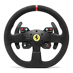 Thrustmaster Ferrari F599XX EVO 30 Wheel AddOn Alcantara Edition (Lenkrad AddOn, 30 cm, Alcantara, PS4 / PS3 / Xbox One…