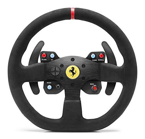 Thrustmaster Ferrari F599XX EVO 30 Wheel AddOn Alcantara Edition (Lenkrad AddOn, 30 cm, Alcantara, PS4 / PS3 / Xbox One / PC) (Ps4 Formel Eins)