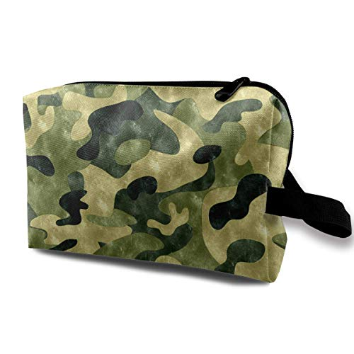 Women's Camouflage Logo Travel Hanging Toiletry Bag Portable Travel Kit Shaving Bathroom Storage Bag Cosmetic Organize Logo Camouflage