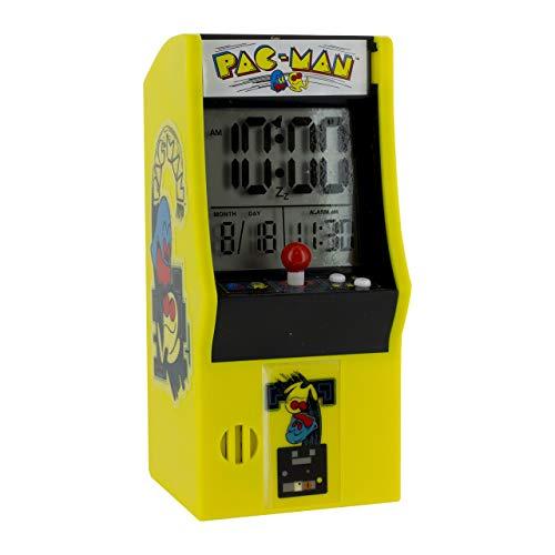 Pac Man Arcade - Reloj Despertador, Multi, 8 x 10 x 16 cm