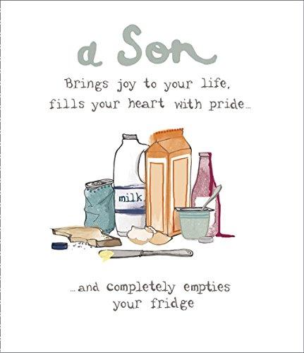 Son Geburtstagskarte-(ukg347532)-A Son bringt Freude in Ihr Leben-Aus Der Serie Hanson White (Blazer Inc)