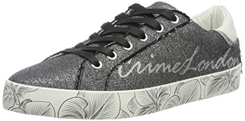 Crime London Damen 25000PP1 Sneaker, Schwarz (Black 20), 39 EU
