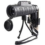 DOGZI Monocular Telescope Ferngläser Testsieger, Ultra High Power 40X60 tragbares HD-Nachtsicht-Monokular mit Nachtsichtgerät