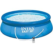 INTEX Swimming Pool Easy Set 305x76cm 28132GN - Pool, Filterpumpe und Filtereinsatz
