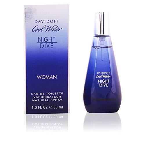 Davidoff Cool Water femme/women, Night Dive Women Eau de Toilette Vaporisateur, 1er Pack (1 x 30 g) - Diva Eau De Parfum Spray