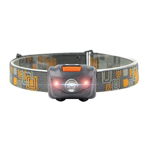 BESTSUN LED Stirnlampe Joggen, Camping LED Kopflampe Angetrieben durch 3 x AAA Batterien (nicht enthalten) -