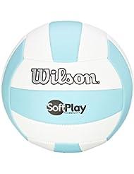 Wilson Soft Play - Pelota, color azul / blanco, talla 7