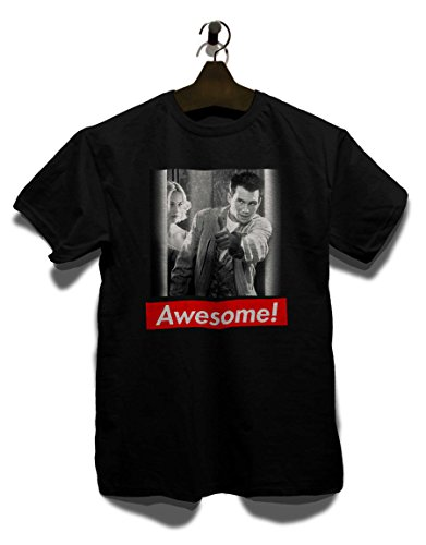 Awesome 81 T-Shirt Schwarz