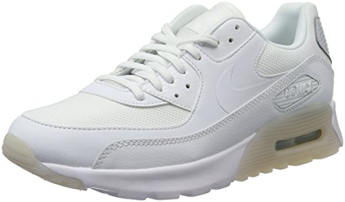 Nike Damen Air Max 90 Ultra Essential Sneakers, Weiß (White/White-Pure Platinum), 41 EU