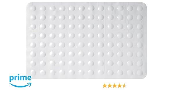 Gelco Design 707254 Tapis Anti Derapant Sweet Blanc 35 X 53 Cm Tapis