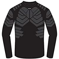 CCM Padd Goalie LS Senior - Ropa Interior de Color Negro (Talla Mediana)