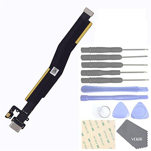 VEKIR Handys Ersatzteile für OnePlus 3 1+3 OnePlus Three USB-Ladeanschluss Flexkabel