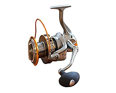 Jarvan 13BB New 9000 All Metal Line Cup Big Long Shot Round Fishing Reel Fishing Boats Sea Anchor Rod Spinning Reels by Jarvan
