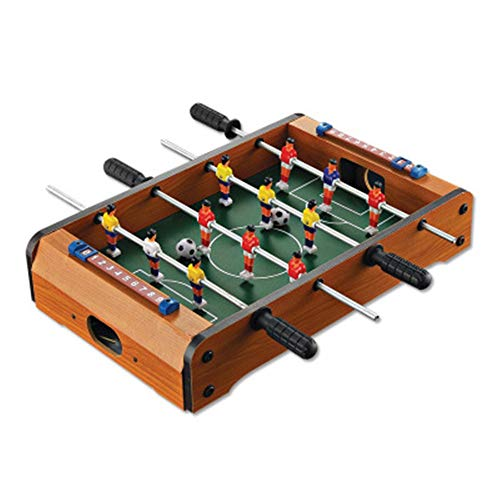 Futbolín La mini mesa portátil de fútbol se divierte en el juego de fútbol de mesa deportiva for interiores for niños y niñas Gran Mesa De Futbolín ( Color : One color , tamaño : 20.1\'\'*12.4\'\'*3.9\'\' )