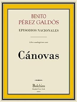 Cánovas (Episodios Nacionales - Quinta serie nº 6) de [Galdós, Benito Pérez]