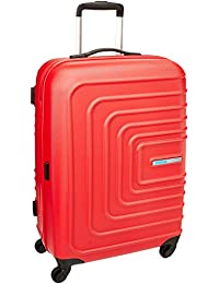 American Tourister Sunset Square ABS 55 cms Red Hard Sided Carry-On (AMT Sunset Square SP55 RED)