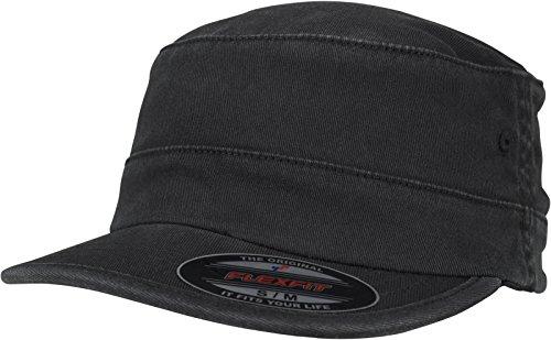 Flexfit Top Gun Garment Washed Cap, Black, L/XL 3 Flex Fit Cap