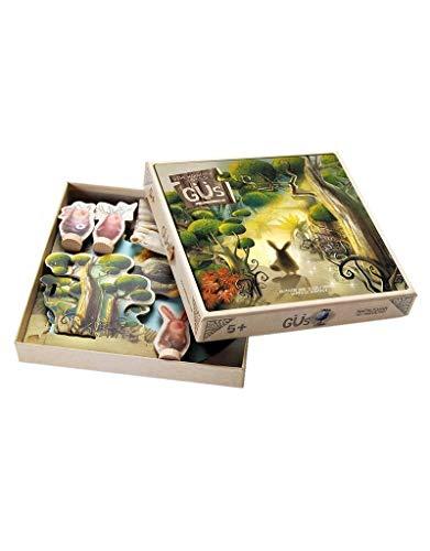 Marbushka [Güs - magischer Wald - kooperativ Kinder und Familien brettspiel - Gesellschaftsspiel für 4 spielers ab 5 Jahren - hergestellt aus natürlichen Materialien in Ungarn