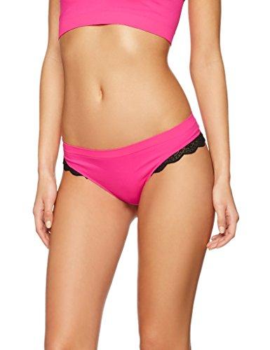 iris-lilly-womens-seamfree-lace-trim-bikini-multicoloured-pink-space-dye-royal-medium