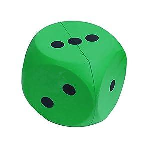 First-Play fpr004Espuma Dados, Verde, 15cm