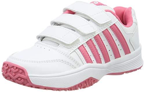 da9533df3b K-Swiss Performance Court Smash Strap Omni Chaussures de Tennis Mixte  Enfant, Blanc (