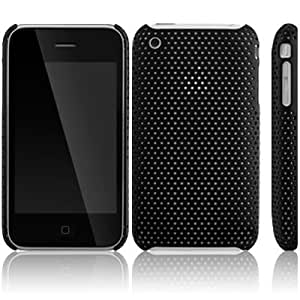 IPHONE 3G 3GS PERFORATED SNAP CASE - BLACK PART OF THE QUBITS ACCESSORIES RANGE