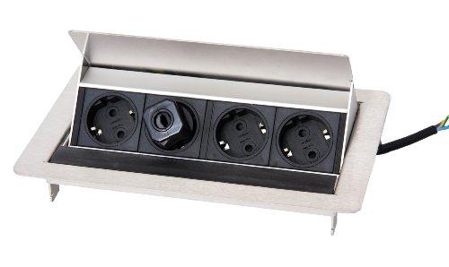 Preisvergleich Produktbild Schulte 934.20.001 Evoline FlipTop, Edelstahl mit Gummilippe