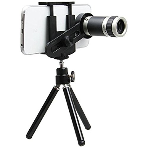 Aeylight 8x Zoom Telescope Camera Lens Kit with Tripod for Mobile