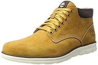 Timberland Bradstreet Leather Sensorflex', Baskets Homme, Jaune (Wheat Nubuck), 43 EU (B01M2YGAH8) | Amazon Products